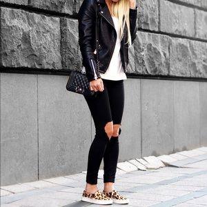 Leopard Studded Vans🐾💋